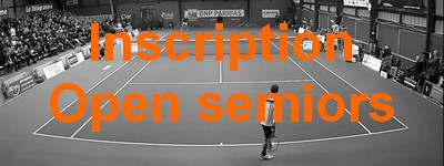 inscription open de tennis de vannes senior