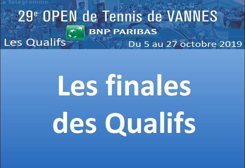 Les Finales des Qualifs du 29ème OPEN BNP Paribas
